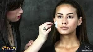 zombie makeup how to flapper zombie part 1 halloween makeup