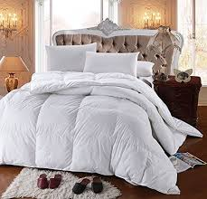 Best Goose Down Duvet Best Goose Down Comforter Amazon Com