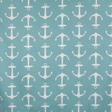 home decor fabric cape cod maritime anchor aqua fabricville