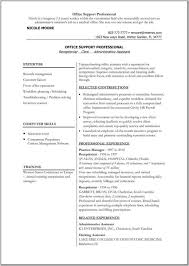 Front Desk Receptionist Sample Resume by Resume Internship Application Sample Resume Creat Administrative