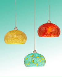 Glass Pendant Lights For Kitchen Island Blown Glass Pendant Lighting For Kitchen Island For The Home
