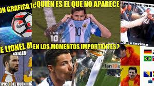 Memes De Messi - los memes de la final argentina chile messi e higua祗n sufren las