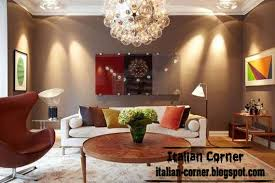 Italian Living Room Design - Lighting designs for living rooms