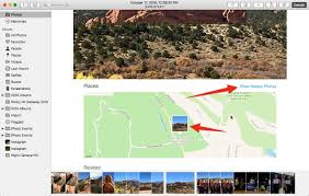 Garden Of The Gods Map Maps In The Photos App