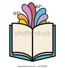 open book color splash stock vector 83981917 shutterstock