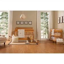 Convertible Crib Mattress Davinci Emily 4 In 1 Convertible Crib In Honey Oak With Crib Mattress