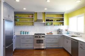 Yellow Kitchen Backsplash Ideas Kitchen Yellow Kitchen Backsplash Walls Gray Tile