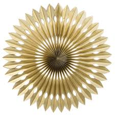 paper fan gold paper fan 40cm party splendourparty splendour