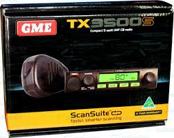 Gme 80 Channel Tx3500s Uhf Cb Radio 5 Watt Model New Two Way 5w