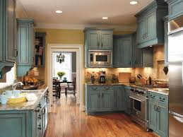 rustic kitchen design ideas rustic cabinets island design blue