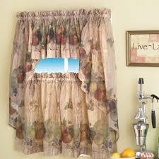 Walmart Brown Curtains Marvelous Wonderful Kitchen Curtains Walmart Stylish Brown Walmart