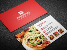 Food Business Card Template free delicious food business card on behance