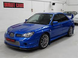 subaru impreza modified blue hurst cars stocklist on pistonheads
