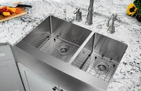 Soleil  X  Double Bowl FarmhouseApron Kitchen Sink - Apron kitchen sinks