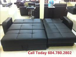 Leather Sofa Bed Leather Sofa Bed Sale Vancouver Youtube