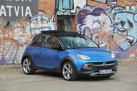 opel adam rocks vidéo opel adam rocks seconde chance