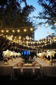 outside wedding ideas wedding lighting inspiration hanging lights decoration and wedding