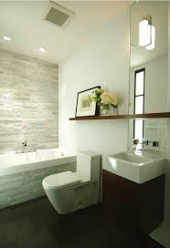 Contemporary Bathroom Shelves Simple Modern Bathroom Huge Mirror Washbasin Floating
