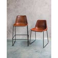 hudson bar stools horizon hudson brown leather bar stool renovation ideas