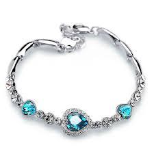 s bracelet birthstones march birthstone bracelet fancota