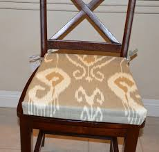 dining chair cushions with ties indoor dining room chair cushions