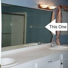Framing Builder Grade Bathroom Mirror Builder Grade Bathroom Mirror