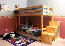 Twin Full Bunk Bed Plans Free by Bunk Beds Woodworking Plans For Bunk Beds Single Over Queen Bunk