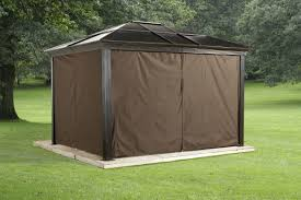 Discount Gazebos by Sojag Sedona Privacy Curtains U0026 Reviews Wayfair