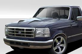 Ford F150 Truck Dimensions - 92 96 ford f150 bronco cv x hood now on sale ford truck