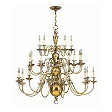 Brass Light Gallery by 4419bb Burnished Brass 3 Tier Chandelier Light 25 Light