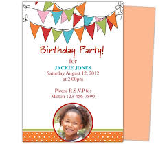 birthday invitations for kids template resume builder