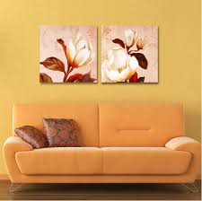 Free Shipping Flowers Free Shipping Flower Painting Oil Painting On Canvas Office Living