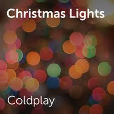 Coldplay Christmas Lights Coldplay Christmas Lights Sheet Music For Choirs And A Capella