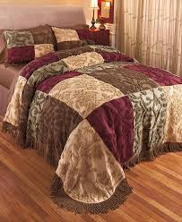 Patchwork Comforter Chenille Patchwork Bedspreads Or Shams Ltd Commodities