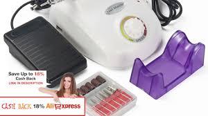 30000rpm professional electric nail drill machine manicure kits