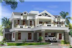 contemporary house designs sq feet 4 bedroom villa design