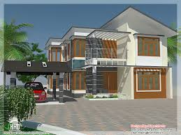 4 bedroom house elevation with free floor plan kerala home