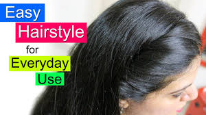 hair style for women age 48 with long curly hair easy hairstyles for school college or office everyday hair style