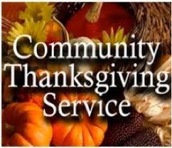 community thanksgiving service nov 20 episcopal church