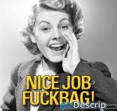 Nice Job Meme - picdescrip com 144 nice job fuckbag