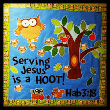 fall bulletin board special needs ministry owl special needs