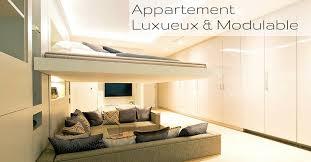 chambre modulable yo home un appartement modulable luxueux à découvrir
