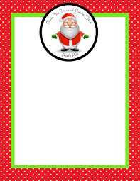 elf letter template month of joy the magic of a letter from santa simply sprout