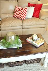 Living Room Table With Storage 15 Ways To Use Open Storage To Organize Your Home