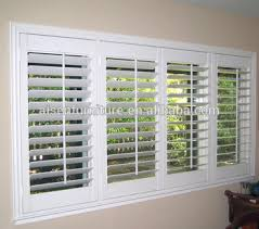 Bi Fold Shutters Interior European Style Interior Wood Plantation Shutter Louvre 63 89 114mm