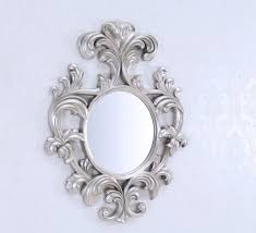 Mirrored Wall Decor by Decorating Frameless Diamond Decorative Wall Mirrors With Candle