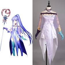 lily halloween costume fate grand order cosplay caster lily medea dress costume uniform