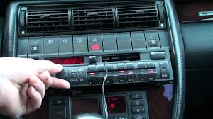 blaupunkt delta cc radio 1997 audi c4 a6 avant mp4 youtube