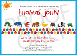printable eric carle inspired baby shower invitation 12 00 via