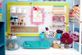 Pink Craft Room - craft room reveal the scrap shoppe